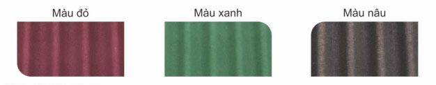 mã màu ngói Pháp siêu nhẹ Onduvilla