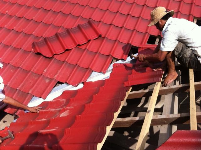 Ngói lợp sinh thái - cung cấp tấm ngói lợp mái tại tp hcm